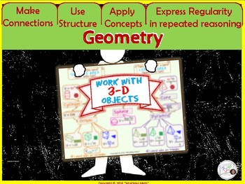 Poster Geometry Volume Surface Area