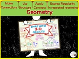 Geometry Poster: VOLUME, Surface Area / Interactive Notebook