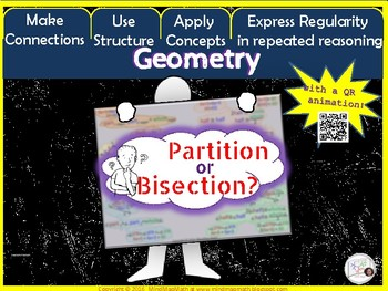 Geometry Poster: BISECTION vs. PARTITION / Interactive Notebook