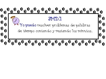 Common Core Geometry Posters (Animal Paws) Bilingual