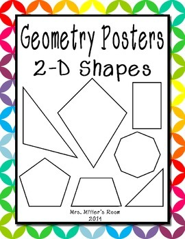 Geometry Posters - 2D Shapes