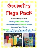 Geometry Posters Activity Projects FUN MEGA BUNDLE {2 Projects and 34 Posters}