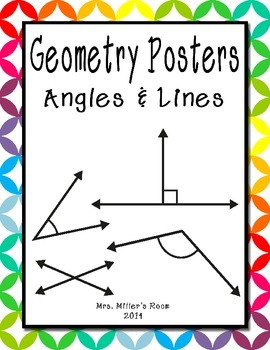 Geometry Posters - Angles & Lines
