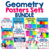 Middle School Geometry Posters BUNDLE