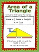 Geometry Posters for 6.G.A.1-4