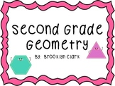 Geometry Power Point - Second Grade 3D Shape and Plane Shapes