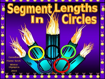 Geometry Power Point:  Segment Lengths in Circles