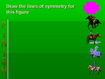 Geometry-PowerPoint Game (Horse Race)