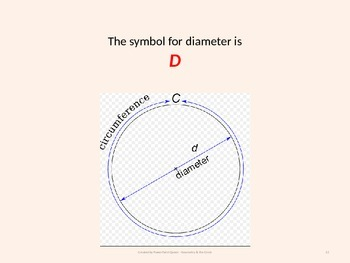 Geometry PowerPoint Introducing Circle