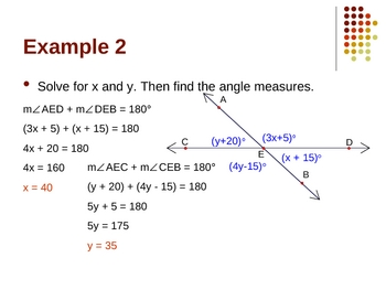 Geometry PowerPoints - Basics of Geometry (Ch 1)