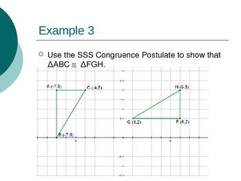Geometry PowerPoints - Congruent Triangles (Ch 4)