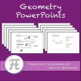 Geometry PowerPoints - Full Year Bundle