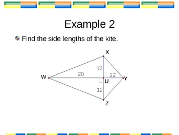 Geometry PowerPoints - Quadrilaterals (Ch 6)
