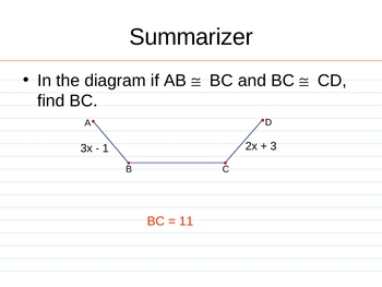 Geometry PowerPoints - Reasoning and Proof (Ch 2)