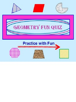 Geometry Powerpoint Fun Quiz