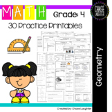 Geometry Math Practice: 30+ Printables {4.G.1 4.G.2 4.G.3