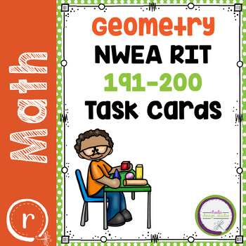 Geometry Practice, Interventions or Math Test Prep NWEA RIT Band 191-200