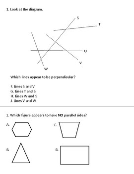 Geometry Practice Packet