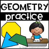 Geometry Practice Pages