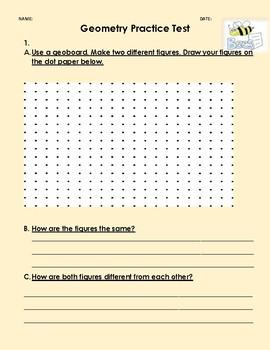 Geometry Practice Test