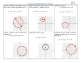 Geometry: Practice with Equations of Circles