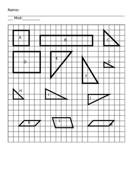 Geometry Practice with Polygons