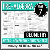 Geometry (Pre-Algebra Curriculum - Unit 7)