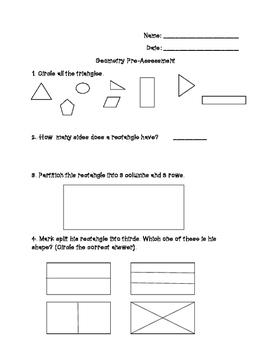 Geometry Pre-Assessment