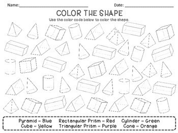 Geometry Activities - Geometry Worksheets and Assessment