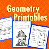 Geometry Printables Lines, Angles, Triangles