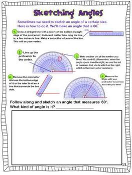 Geometry Printables: Lines and Angles