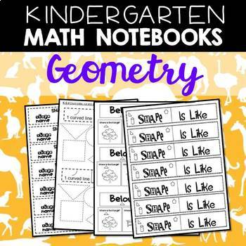 Math Notebooks: Kindergarten Geometry