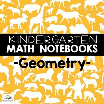 Math Notebooks: Kindergarten Geometry
