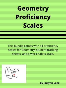Geometry Proficiency Scales, Standards-Based Grading