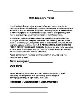 Geometry Project