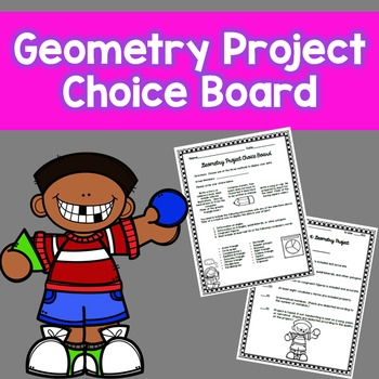 Geometry Project Choice Board