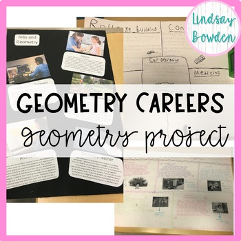 Geometry Project: Geometry Careers EDITABLE!!