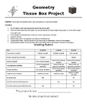 Geometry Project Points, Lines, and Planes with a Tissue B