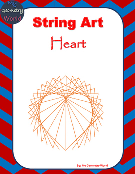 Geometry Project: String Art - Heart