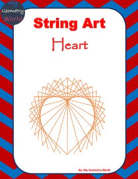Geometry Project: String Art - Heart