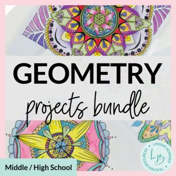 Geometry Projects Bundle-EDITABLE!!