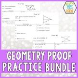 Geometry Proof Cards BUNDLE
