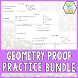 Geometry Proof Cards BUNDLE