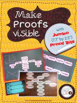 Geometry Proofs /Proof Blocks /Proof Tiles/ Proof Strips / Proof Bits