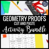 Geometry Proofs Cut-Out Activity Bundle