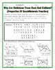 Quadrilaterals - Properties of Quadrilaterals Christmas Riddle Worksheet