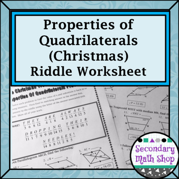 Christmas Riddle Teaching Resources | Teachers Pay Teachers