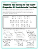 Quadrilaterals -  Properties of Quadrilaterals Riddle Worksheet