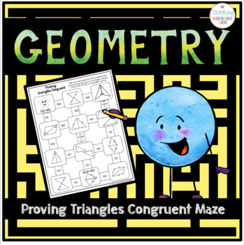 Geometry Proving Triangles Congruent Maze
