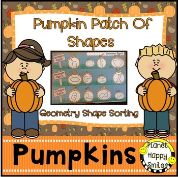 Pumpkin Activity ~ Geometry Pumpkin Patch, Planet Happy Smiles